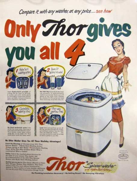 Thor Washing Machine Ad 14x10