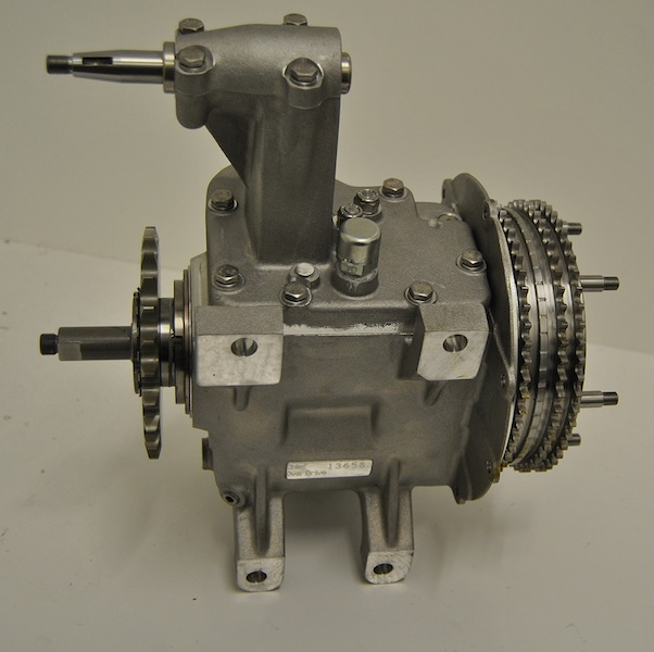 overdrive gearbox thumb